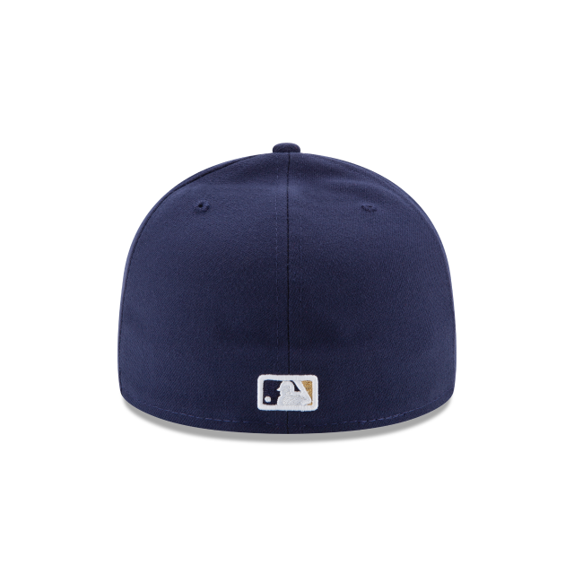 MILWAUKEE BREWERS AUTHENTIC COLLECTION 59FIFTY FITTED Rear view