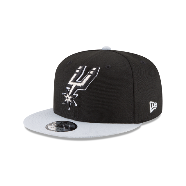 SAN ANTONIO SPURS SIDE STATED 9FIFTY SNAPBACK 3 quarter left view