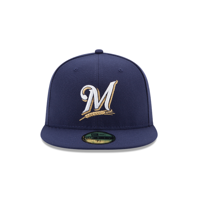 MILWAUKEE BREWERS AUTHENTIC COLLECTION 59FIFTY FITTED Front view