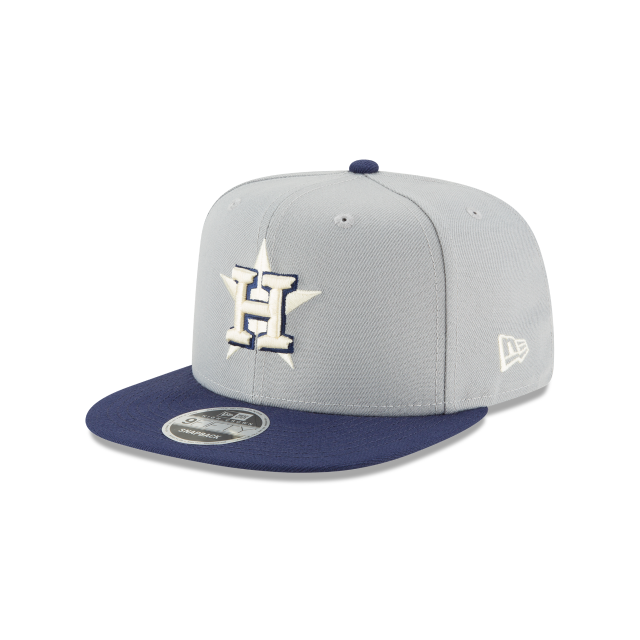 HOUSTON ASTROS PASTEL HIGH CROWN 9FIFTY SNAPBACK 3 quarter left view