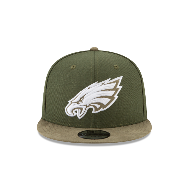 PHILADELPHIA EAGLES TONAL CHOICE GREEN 9FIFTY SNAPBACK Front view
