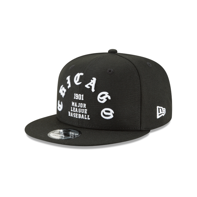 CHICAGO WHITE SOX TEAM DELUXE 9FIFTY SNAPBACK 3 quarter left view