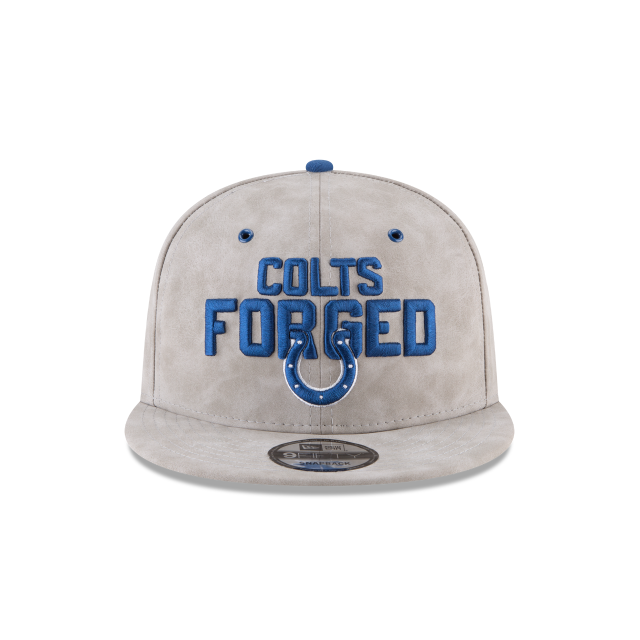 INDIANAPOLIS COLTS SPOTLIGHT PREMIUM 9FIFTY SNAPBACK Front view
