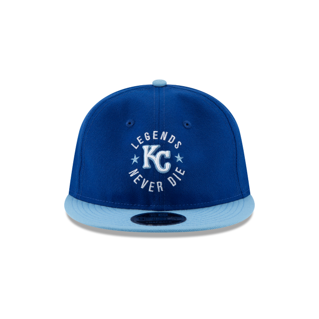 KANSAS CITY ROYALS SANDLOT LND RETRO CROWN 9FIFTY SNAPBACK Front view