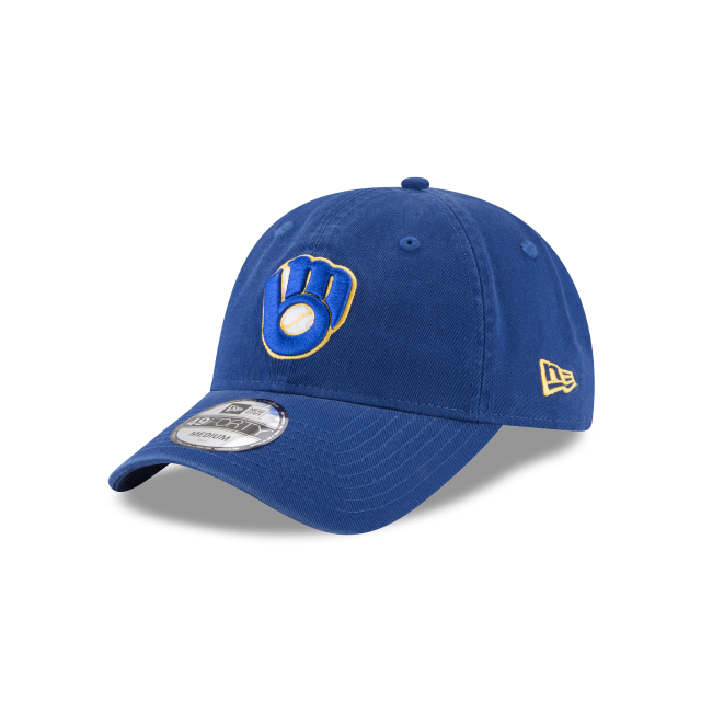 MILWAUKEE BREWERS CORE FIT ALT 49FORTY FITTED 3 quarter left view