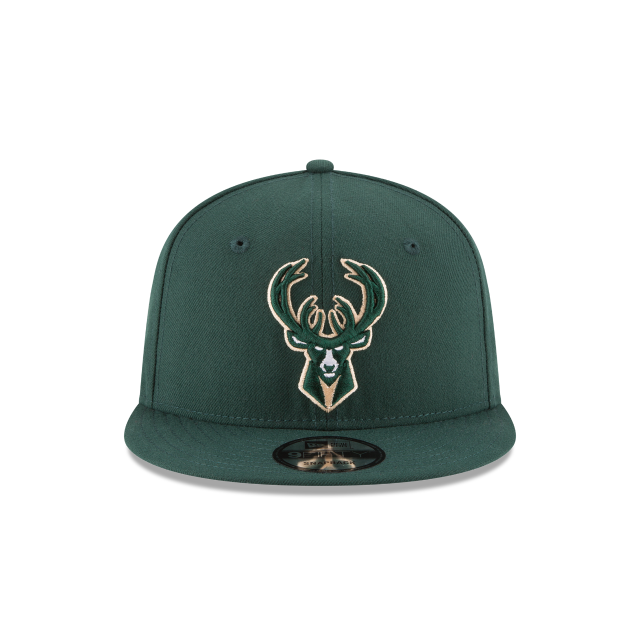 MILWAUKEE BUCKS PLAYOFF SIDE PATCH 9FIFTY SNAPBACK Front view