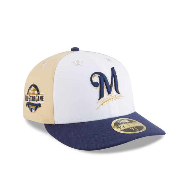 MILWAUKEE BREWERS ALL STAR GAME LOW PROFILE 59FIFTY FITTED 3 quarter right view