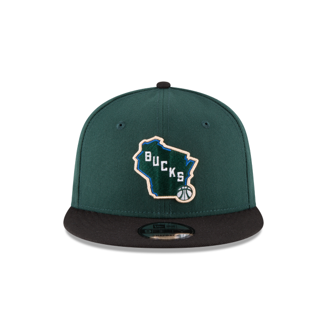 MILWAUKEE BUCKS 2TONE 9FIFTY SNAPBACK Front view