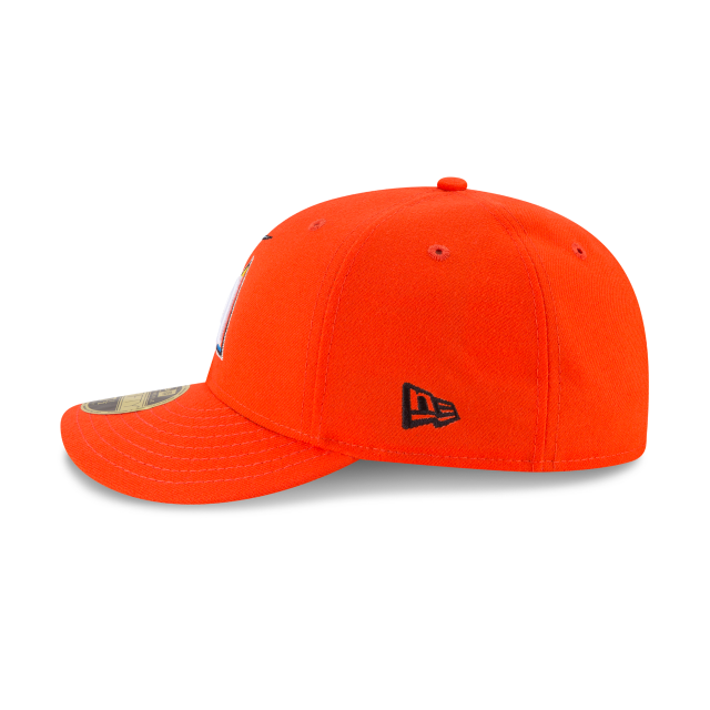 fc6092f5348 MIAMI MARLINS LOW PROFILE ROAD AC 59FIFTY FITTED Left side view