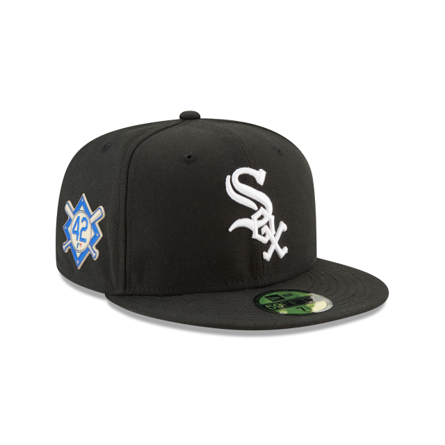 CHICAGO WHITE SOX JACKIE ROBINSON SIDE PATCH 59FIFTY FITTED 3 quarter right view