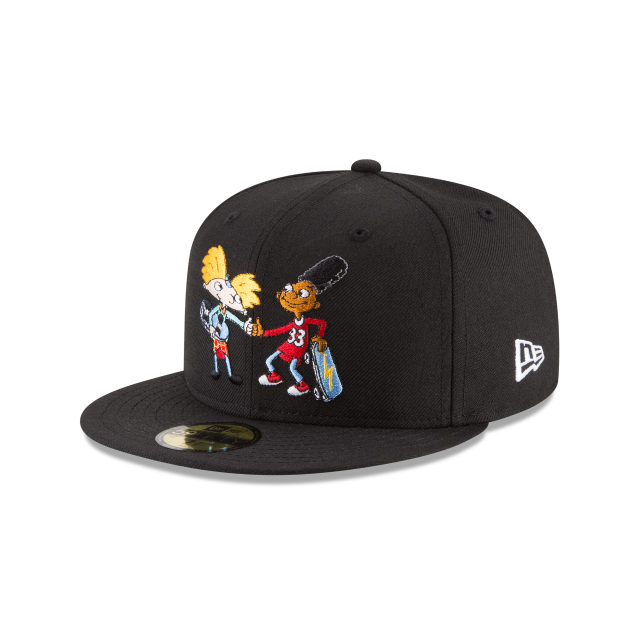 b61e9c33 ... coupon for hey arnold nickelodeon 59fifty fitted 3 quarter left view  1c2d6 58bee