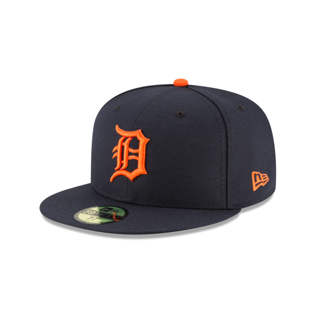 DETROIT TIGERS ROAD AC 59FIFTY FITTED 3 quarter left view