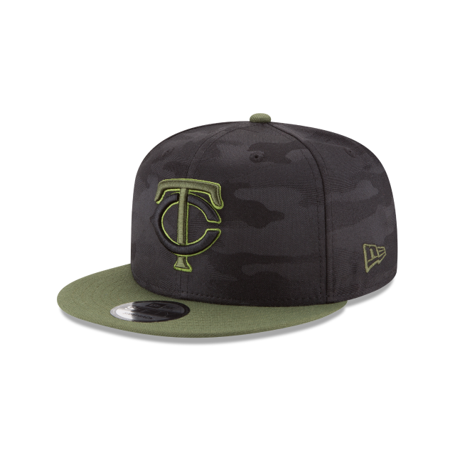 MINNESOTA TWINS MEMORIAL DAY 9FIFTY SNAPBACK 3 quarter left view
