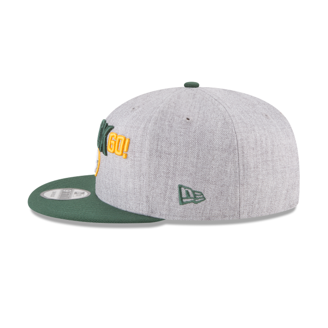 GREEN BAY PACKERS NFL DRAFT 9FIFTY SNAPBACK Left side view
