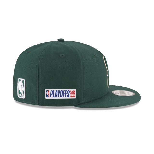 MILWAUKEE BUCKS PLAYOFF SIDE PATCH 9FIFTY SNAPBACK Right side view