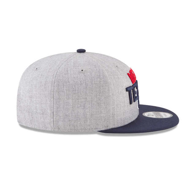 HOUSTON TEXANS NFL DRAFT 9FIFTY SNAPBACK Right side view