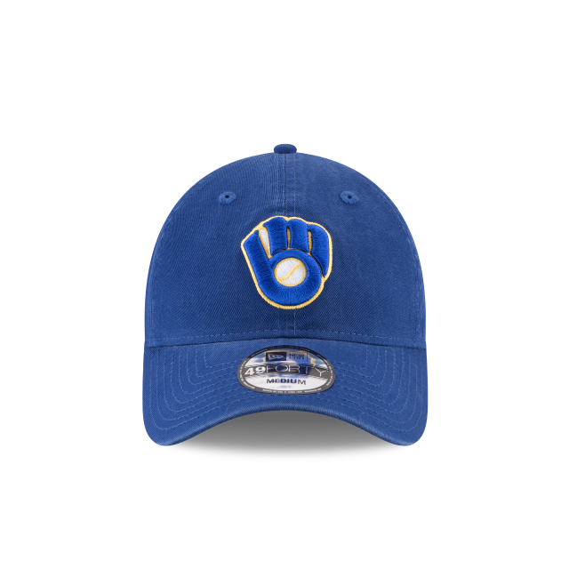 MILWAUKEE BREWERS CORE FIT ALT 49FORTY FITTED Front view