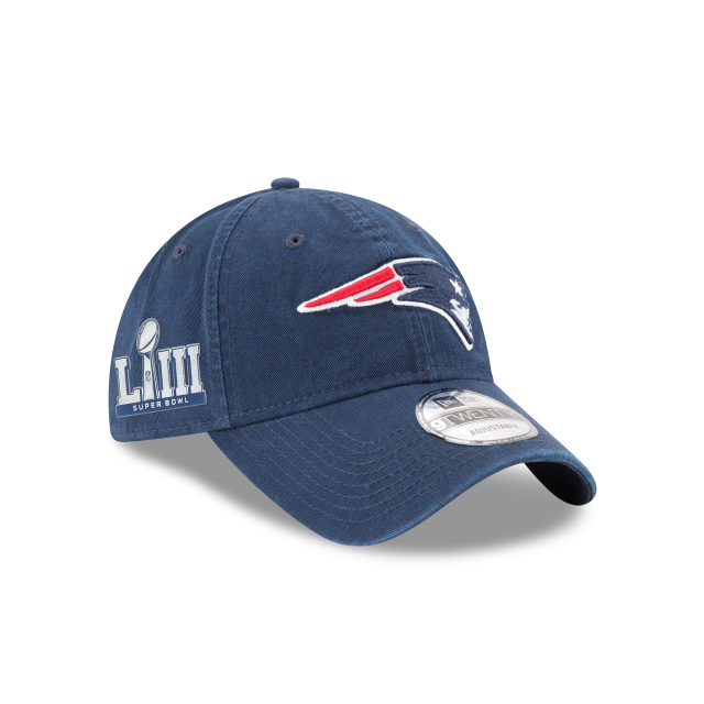 NEW ENGLAND PATRIOTS SUPER BOWL LIII CORE CLASSIC 9TWENTY ADJUSTABLE 3 quarter right view
