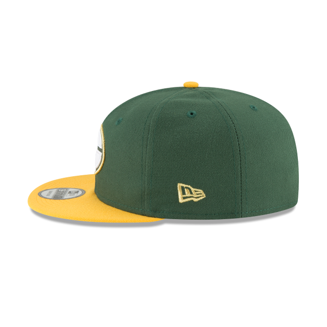 GREEN BAY PACKERS GLORY TURN 9FIFTY SNAPBACK Left side view