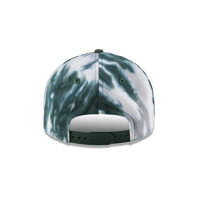 NEW YORK JETS MARBLED RETRO CROWN 9FIFTY SNAPBACK Rear view