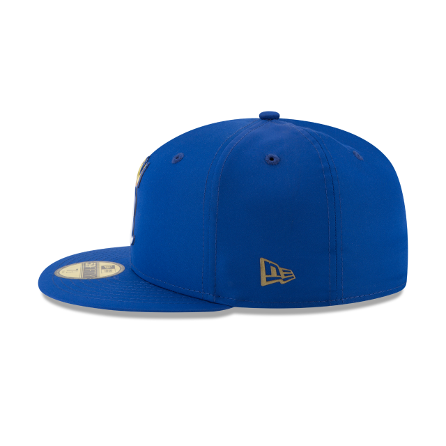 KIDS KANSAS CITY ROYALS BATTING PRACTICE PROLIGHT 59FIFTY FITTED Left side view