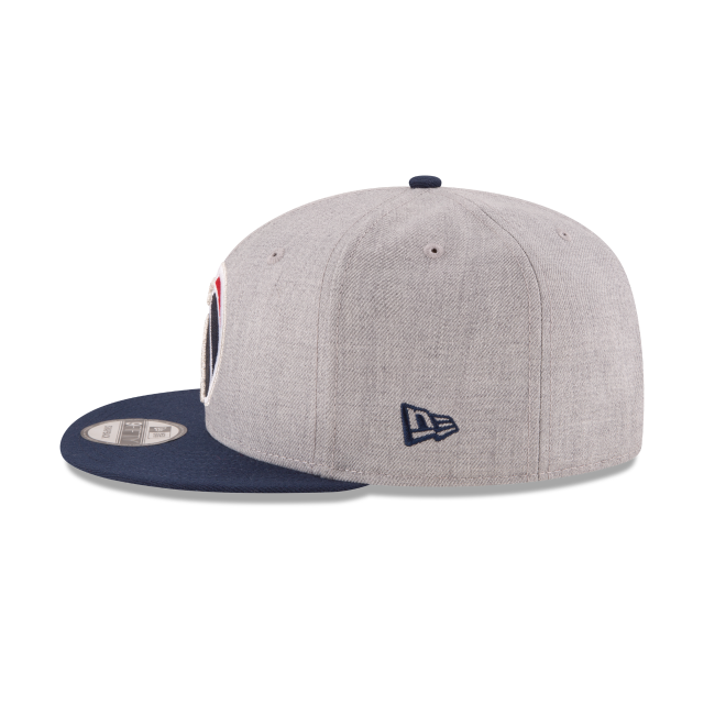 WASHINGTON WIZARDS 2TONE HEATHER 9FIFTY SNAPBACK Left side view