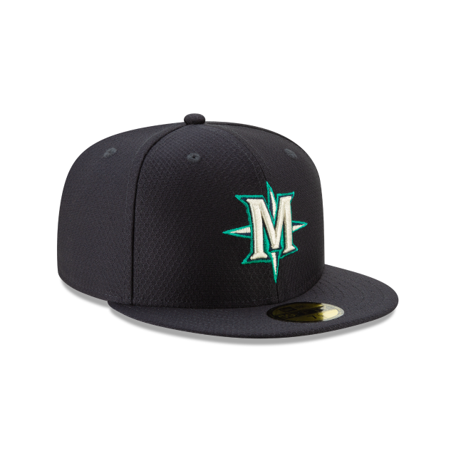 SEATTLE MARINERS BATTING PRACTICE 59FIFTY FITTED 3 quarter right view