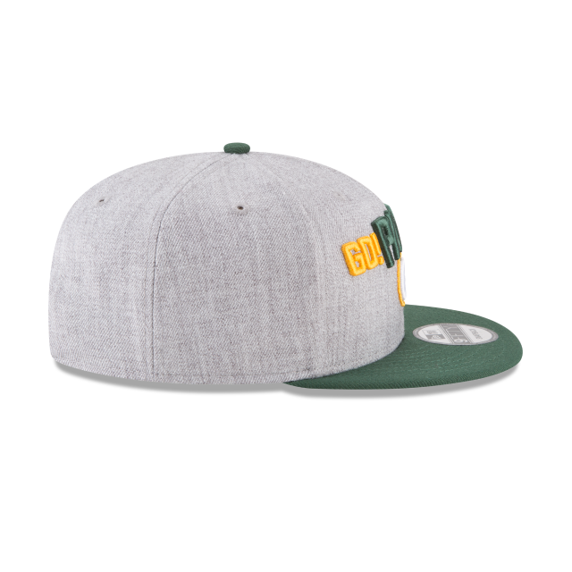 GREEN BAY PACKERS NFL DRAFT 9FIFTY SNAPBACK Right side view