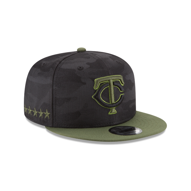 MINNESOTA TWINS MEMORIAL DAY 9FIFTY SNAPBACK 3 quarter right view