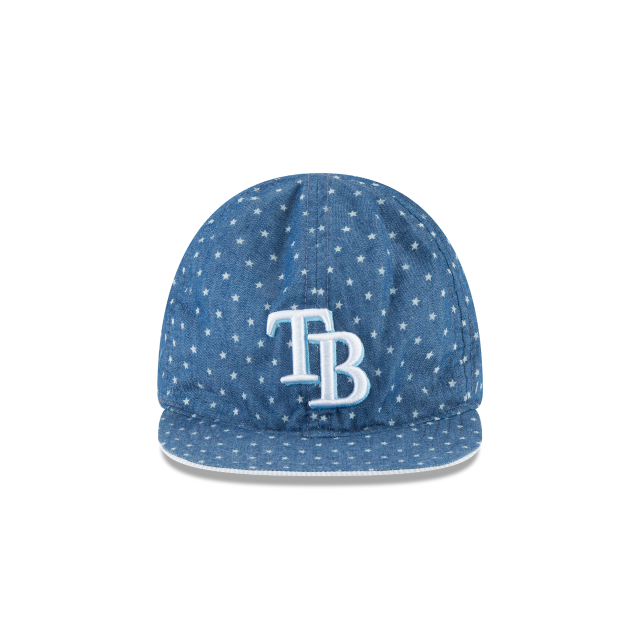 TAMPA BAY RAYS DENIM FLIP KIDS 9TWENTY ADJUSTABLE Front view