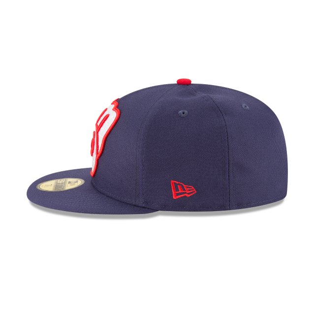 MILWAUKEE BREWERS PATRIOTIC TURN 59FIFTY FITTED Left side view