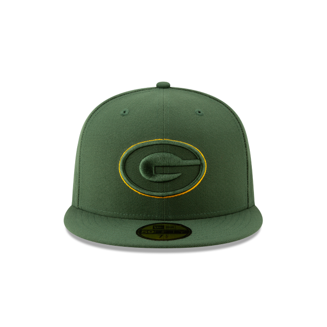 GREEN BAY PACKERS NFL LOGO ELEMENTS 59FIFTY FITTED Front view