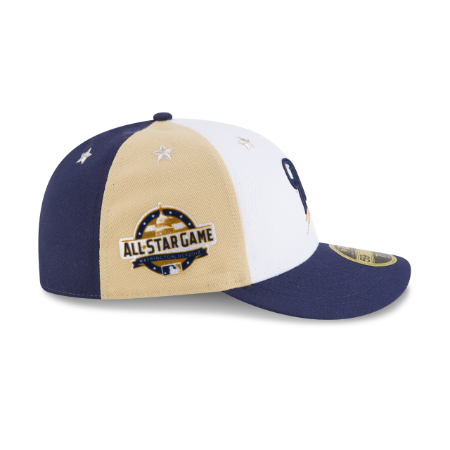 MILWAUKEE BREWERS ALL STAR GAME LOW PROFILE 59FIFTY FITTED Right side view