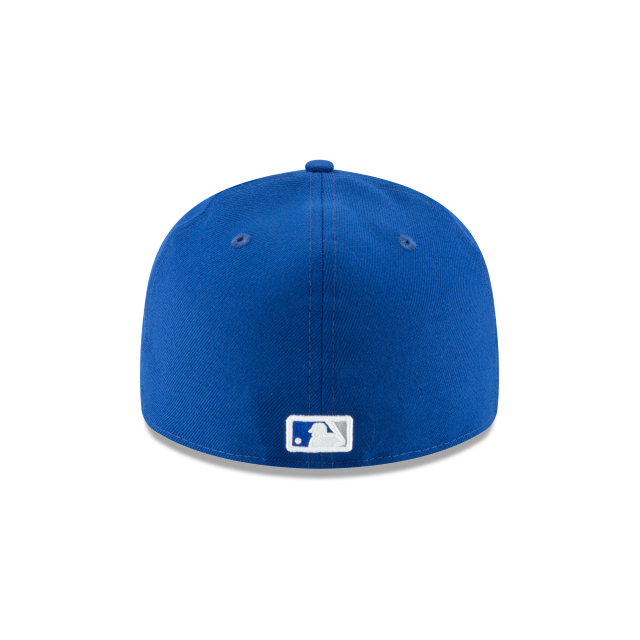 KANSAS CITY ROYALS FAN FIT RETRO CROWN 59FIFTY FITTED Rear view