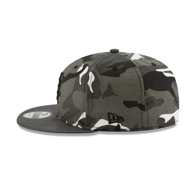 SAN FRANCISCO GIANTS SUEDED UP CAMO 9FIFTY SNAPBACK Left side view