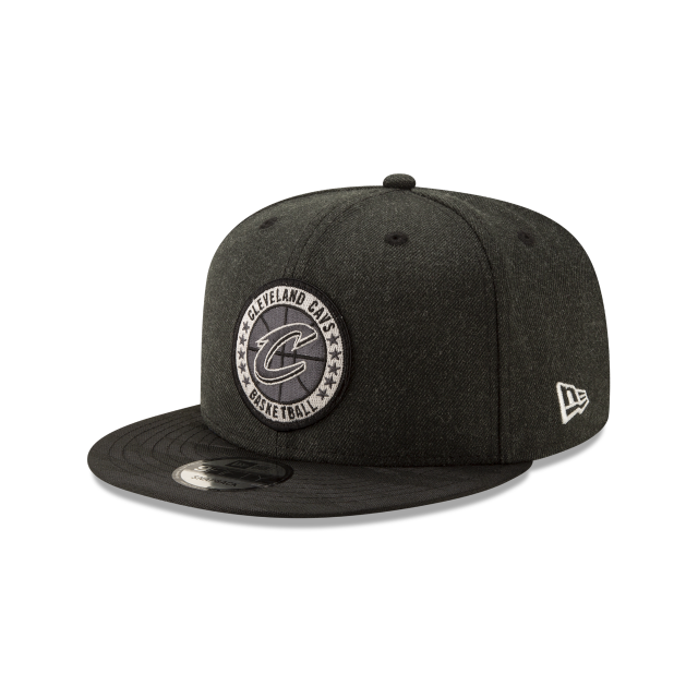 CLEVELAND CAVALIERS 2018 NBA AUTHENTICS: TIP OFF SERIES BLACK 9FIFTY SNAPBACK 3 quarter left view