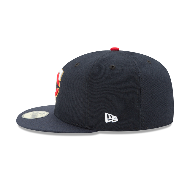 MINNESOTA TWINS AUTHENTIC COLLECTION 59FIFTY FITTED Left side view