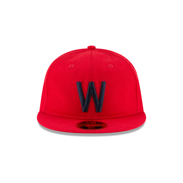 WASHINGTON SENATORS WOOL RETRO CROWN 59FIFTY FITTED Front view