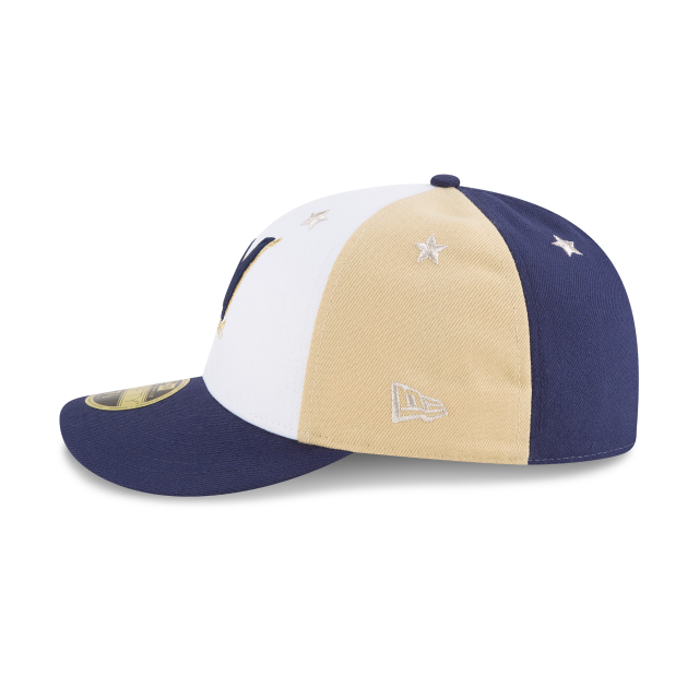 MILWAUKEE BREWERS ALL STAR GAME LOW PROFILE 59FIFTY FITTED Left side view