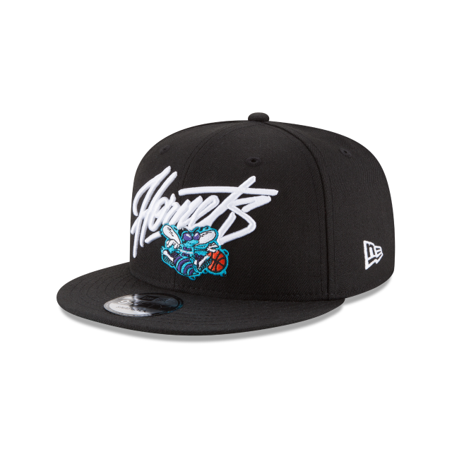 CHARLOTTE HORNETS CLASSICS 9FIFTY SNAPBACK 3 quarter left view