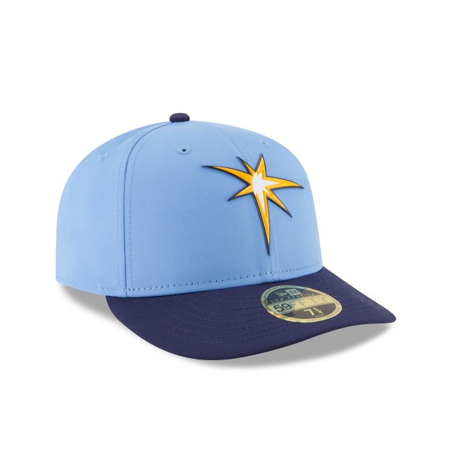 official photos 30685 cb004 ... usa tampa bay rays alternate mlb batting practice prolight low profile  59fifty fitted 3 quarter right