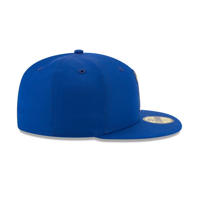 KIDS KANSAS CITY ROYALS BATTING PRACTICE PROLIGHT 59FIFTY FITTED Right side view