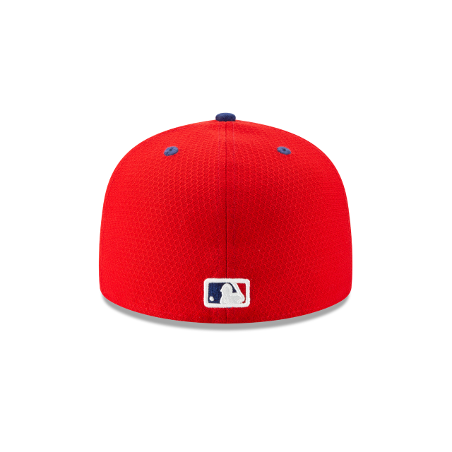 PHILADELPHIA PHILLIES BATTING PRACTICE 59FIFTY FITTED Rear view