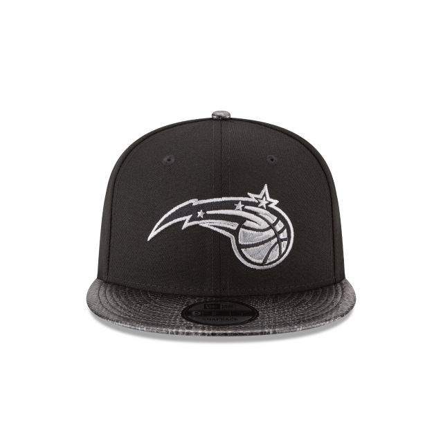 ORLANDO MAGIC SNAKESKIN BLACK 9FIFTY SNAPBACK Front view