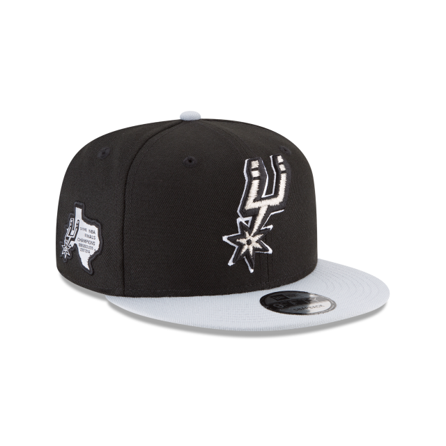 SAN ANTONIO SPURS SIDE STATED 9FIFTY SNAPBACK 3 quarter right view