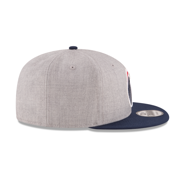 WASHINGTON WIZARDS 2TONE HEATHER 9FIFTY SNAPBACK Right side view