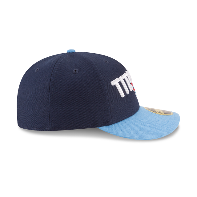 TENNESSEE TITANS SPOTLIGHT LOW PROFILE 59FIFTY FITTED Right side view 28f5783c7