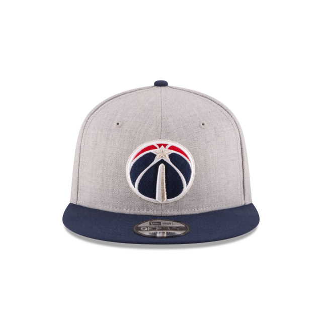 WASHINGTON WIZARDS 2TONE HEATHER 9FIFTY SNAPBACK Front view