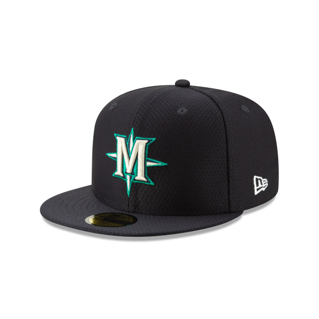 SEATTLE MARINERS BATTING PRACTICE 59FIFTY FITTED 3 quarter left view