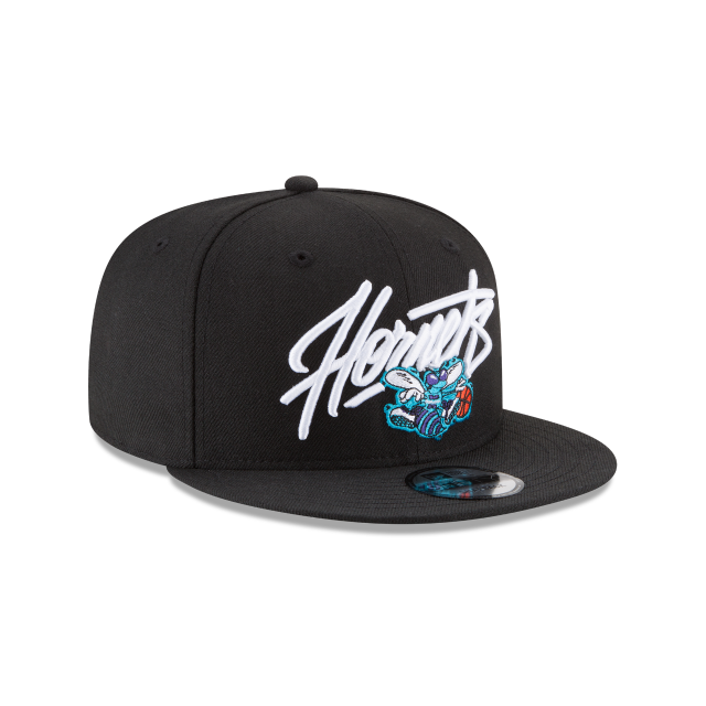 CHARLOTTE HORNETS CLASSICS 9FIFTY SNAPBACK 3 quarter right view